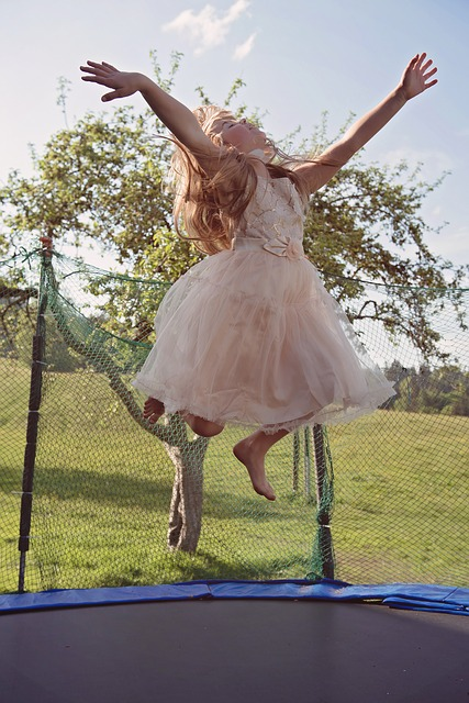rebounding trampolino elastico