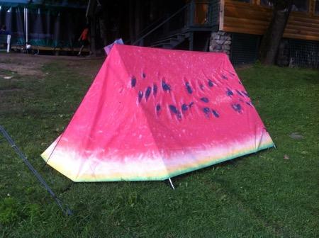 tenda fruttariana
