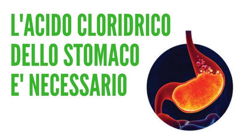 acido cloridrico stomaco