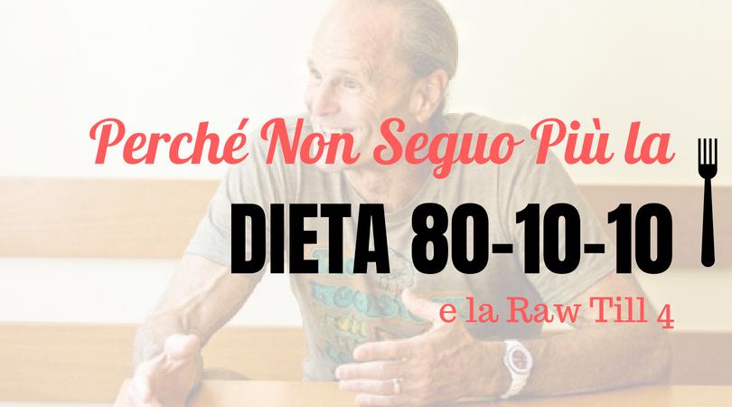 dieta 80 10 10